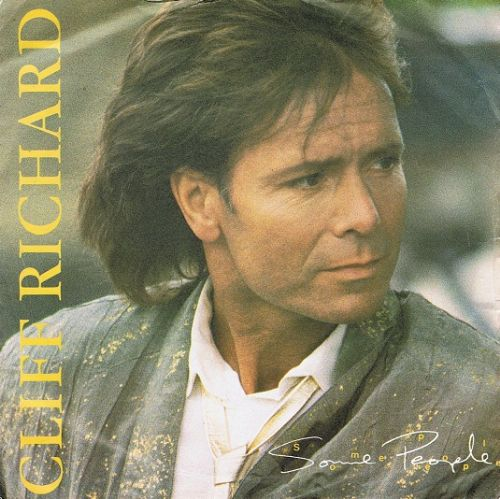 "CLIFF RICHARD Some People 7"" Single Vinyl Record 45rpm EMI 1987"